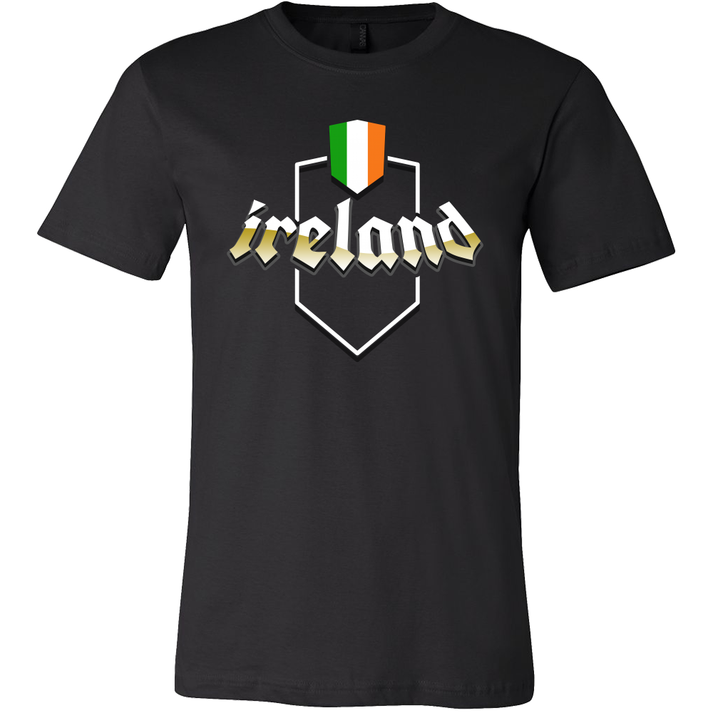Irish Ireland Vintage Flag T-shirt