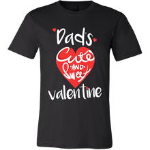 Dad's Cute & Sweet Valentines Day Tshirt
