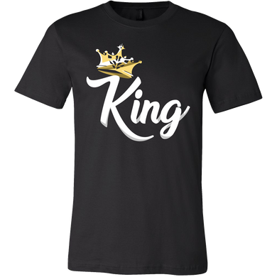 King Design on King and Queen Tshirts