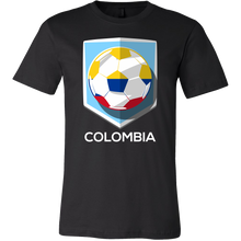 Colombia T-shirt Colombian Flag Tee Football and Soccer SouvenirTshirt