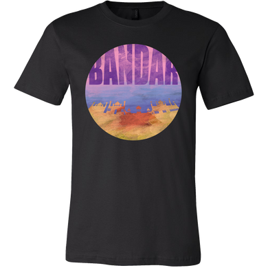 2ce44b94 Bandar Skyline Horizon Sunset Love Brunei Gift T-shirt