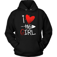 'I Love This Girl' Heart Valentine Hoodie