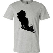 Tshirts Funny - Potential Lion Shadow and Cat design on Tshirt