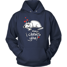 I Chews You Fun Heart Love Hoodie