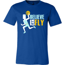 Basketball Player I Believe I Can Fly Inspiring Quote T-shirt