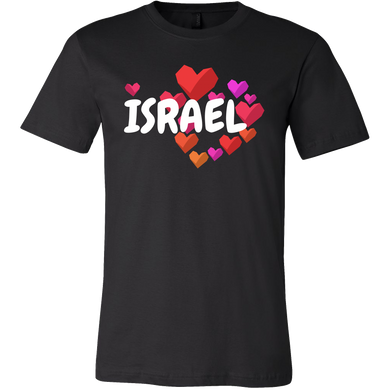 I Love Israel Vintage Retro Distressed Star Flag T-shirt