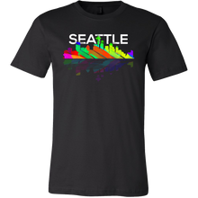 Seattle Washington Downtown City Skyline Souvenir Travel US T-shirt