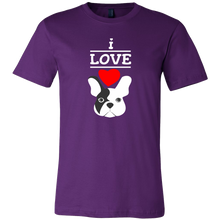 I Love French Bulldogs,Love Dogs,Animal and Pets T-shirt