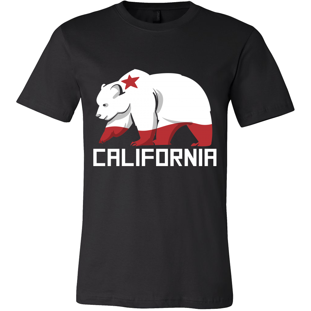 Grizzly Bear 'California' Flag Tshirt