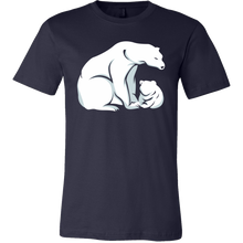 Papa Bear Baby Bear Dads Matching Family T Shirt