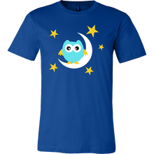 Owl and The Moon Sweet Dreams Lullaby Premium T-shirt