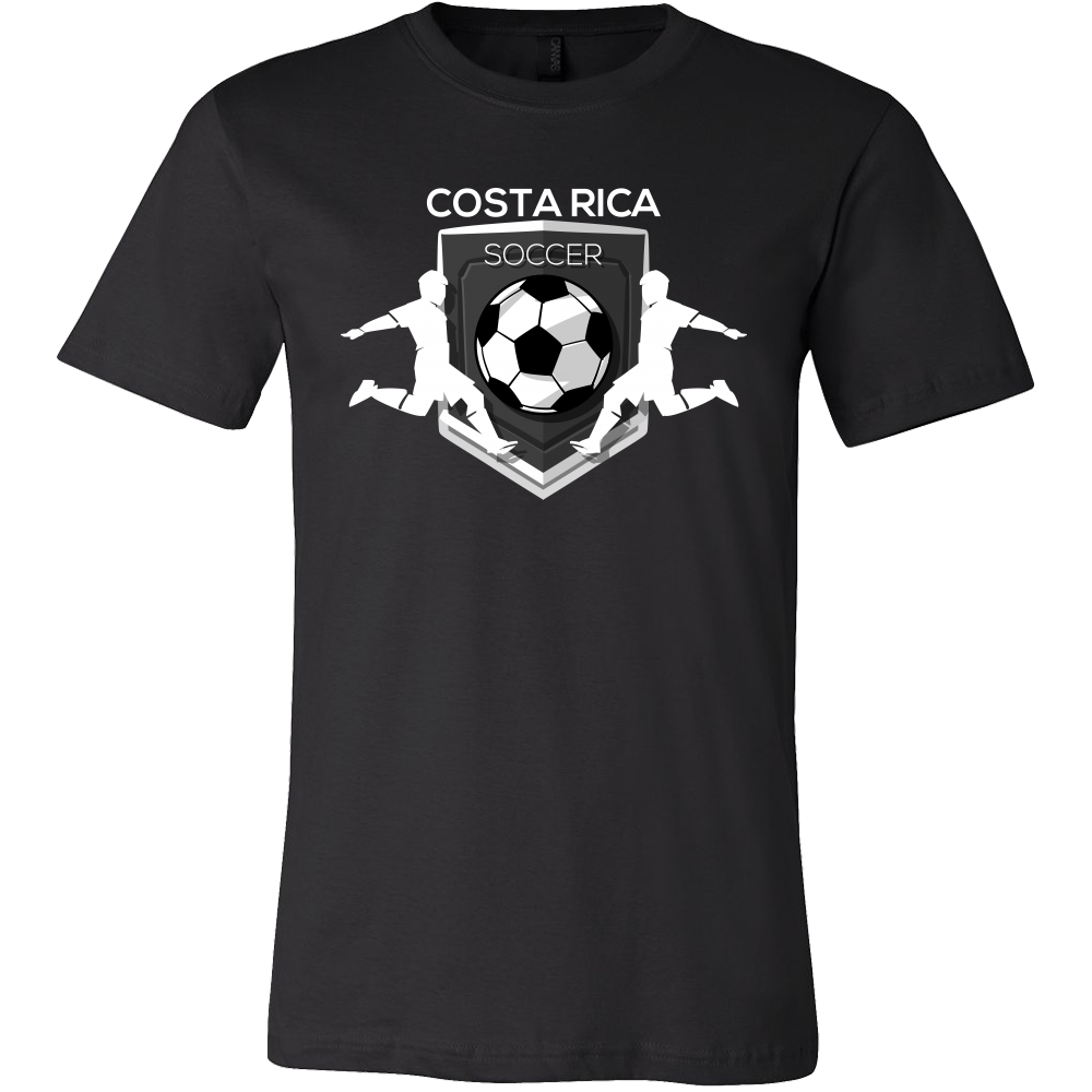 Soccer, Costa Rica Sports Flag T-shirt Costa Rican