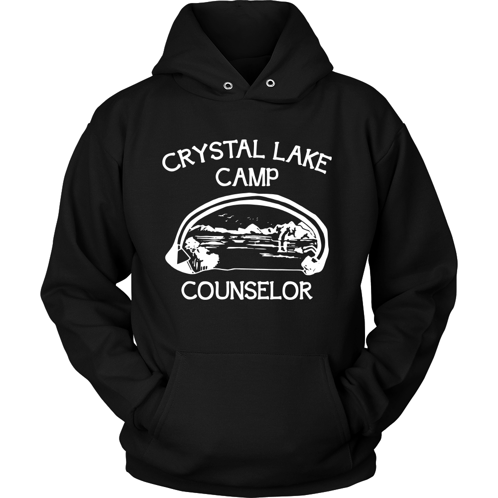 Camp Hoodie - Camp Crystal Lake Counseler Quote Design