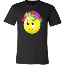 Emoji Flower Cute Face Emojis Flowery Crown T Shirt