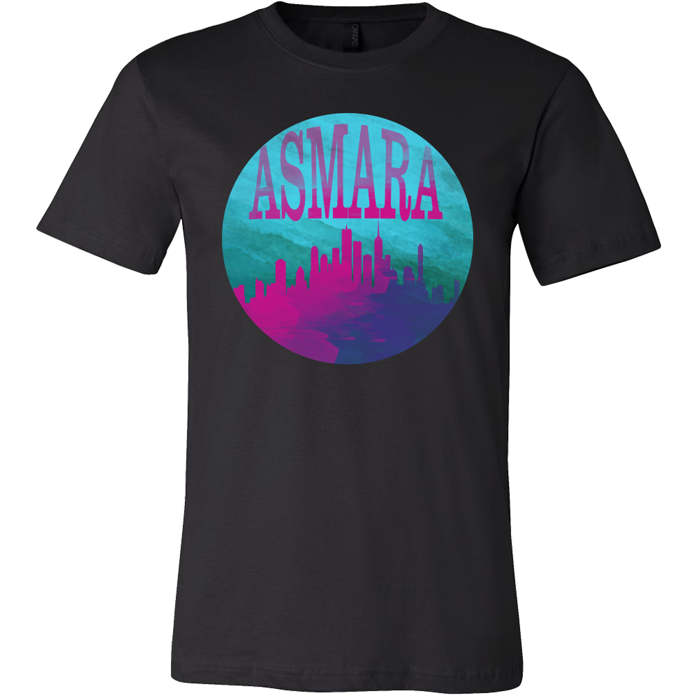 Asmara Skyline Horizon Sunset Love Eritrea Gift T-shirt