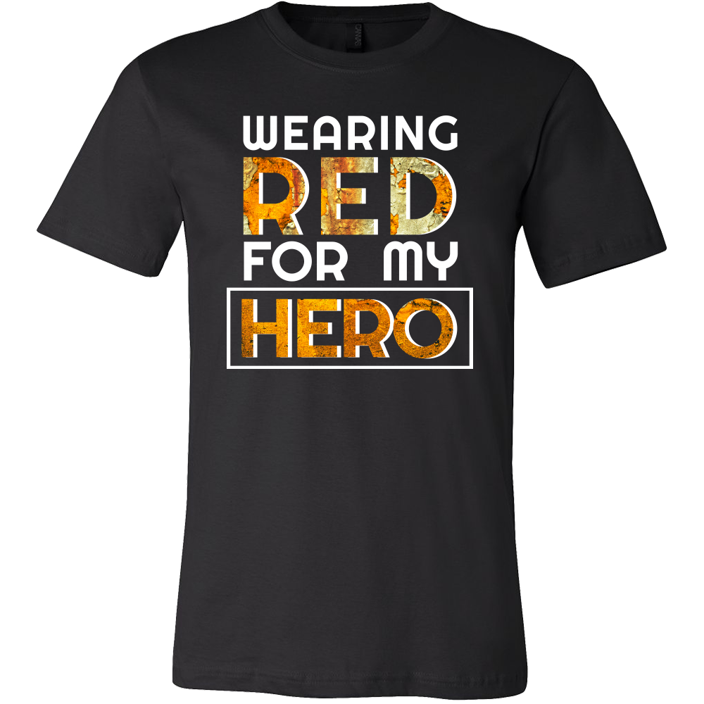 RED Friday, Military, Remember Veteran U.S.A Wear Red My Hero Tee Shirt