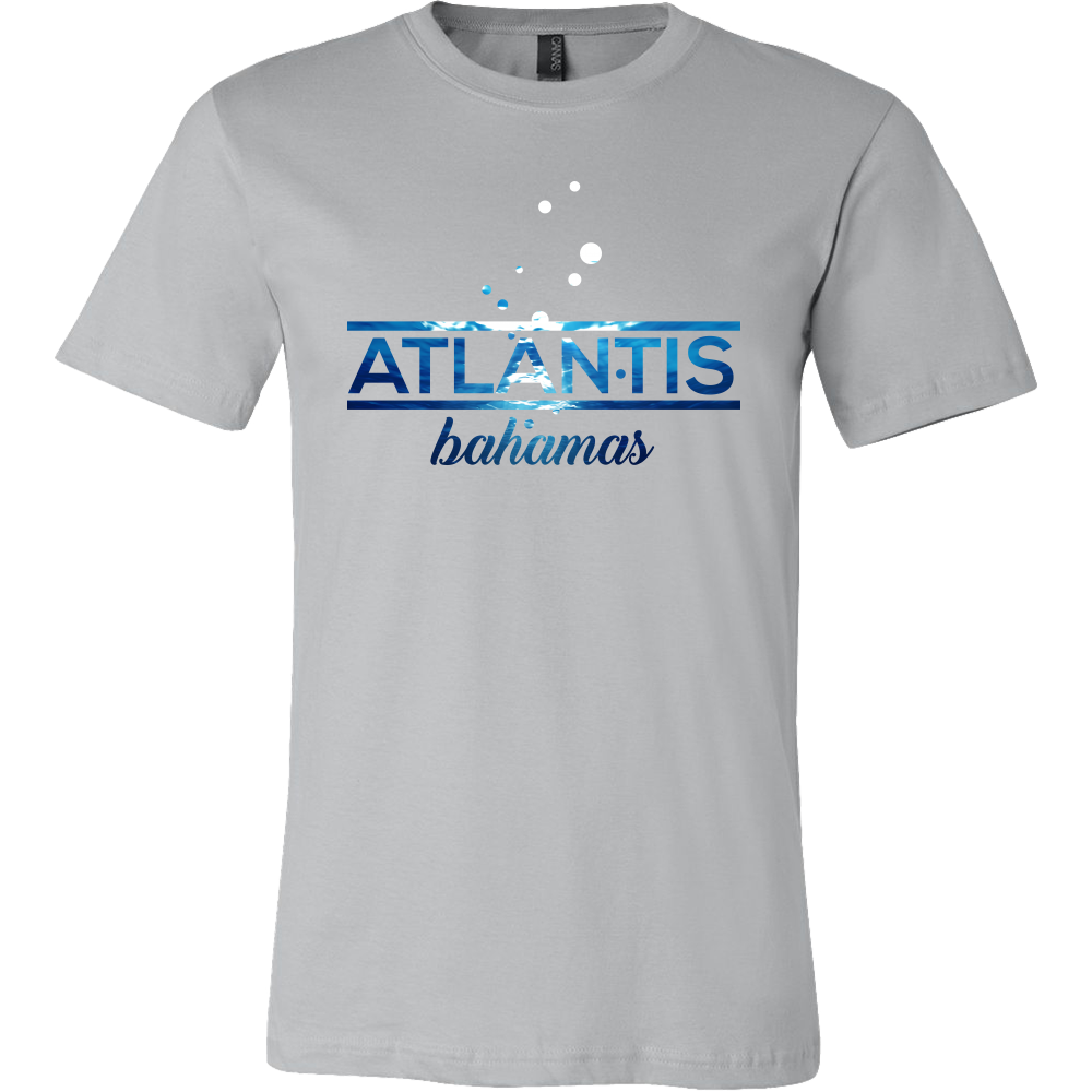 Bahamas Atlantis, Beach, Sea and Sun Underwater T-shirt