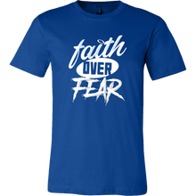 Faith Over Fear Inspirational Quote Gift T Shirt