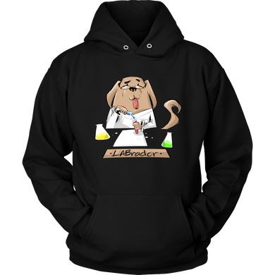 LABrador funny animal Dog Saying Hoodie