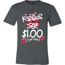 $1 Kisses Design on Hugs and Kisses Tshirt