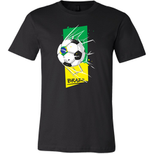 Brazil Soccer Football, Brazilian Pride Flag Colors T-shirt