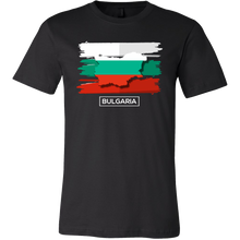 Bulgaria Eastern Europe Map, Black Sea Balkans Flag T-shirt