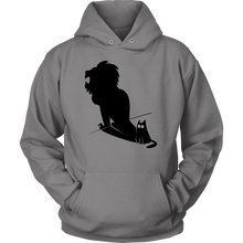 Tshirts Funny - Potential Lion Shadow and Cat design on Hoodie