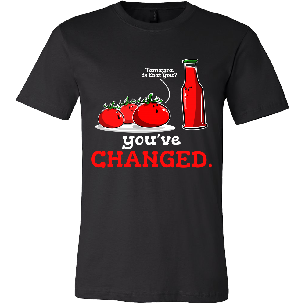 'Have You Changed?' Funny Tshirts
