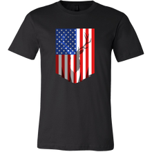 Deer Hunting USA Flag Tshirt