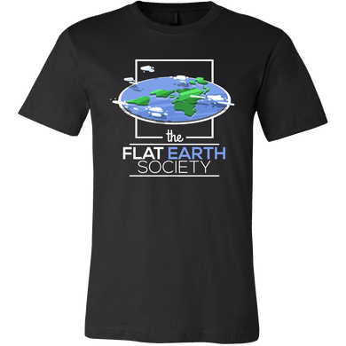 Flat Earth Society Funny Theory Conspiracy T-shirt