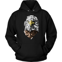 Graphic Eagle Design Hoodie