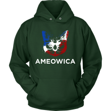 Ameowica Love Cats, Cat Pet Lover Hoodie
