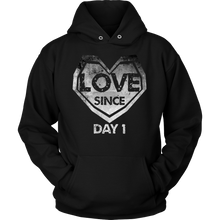 Love Since Day One Marriage In Love Couples Hoodie
