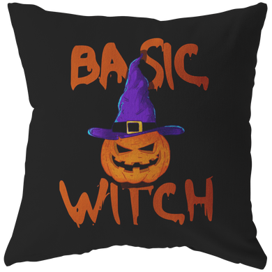 Basic Witch Happy Halloween Pillow
