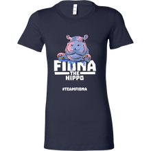 Fiona The Hippo Shirt #TeamFiona Cute Preemie Bella T-Shirt