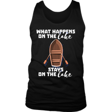 What Happens On The Lake Stays On The Lake Funny Boat Tank