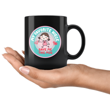 My Favorite Niece Gave Me This Mug, Funny 11oz. Ceramic Black Mug, Auntie Gift