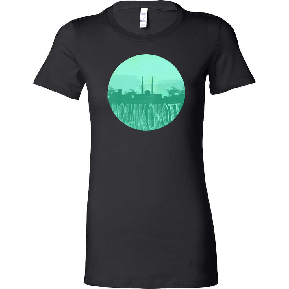 Nouakchott Capital Skyline Horizon Sunset Mauritania Bella Shirt