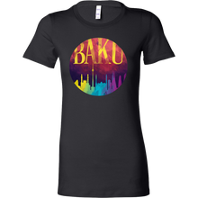 Baku Skyline Horizon Sunset Love Azerbaijan Bella Shirt