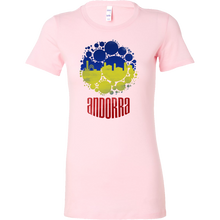 Andorra Skyline Horizon Sunset Love Country Bella Shirt