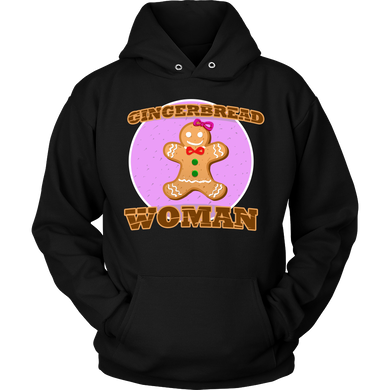 Gingerbread Woman Christmas Hoodie Gift