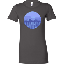 Funafuti Capital Skyline Horizon Sunset Love Tuvalu Bella Shirt