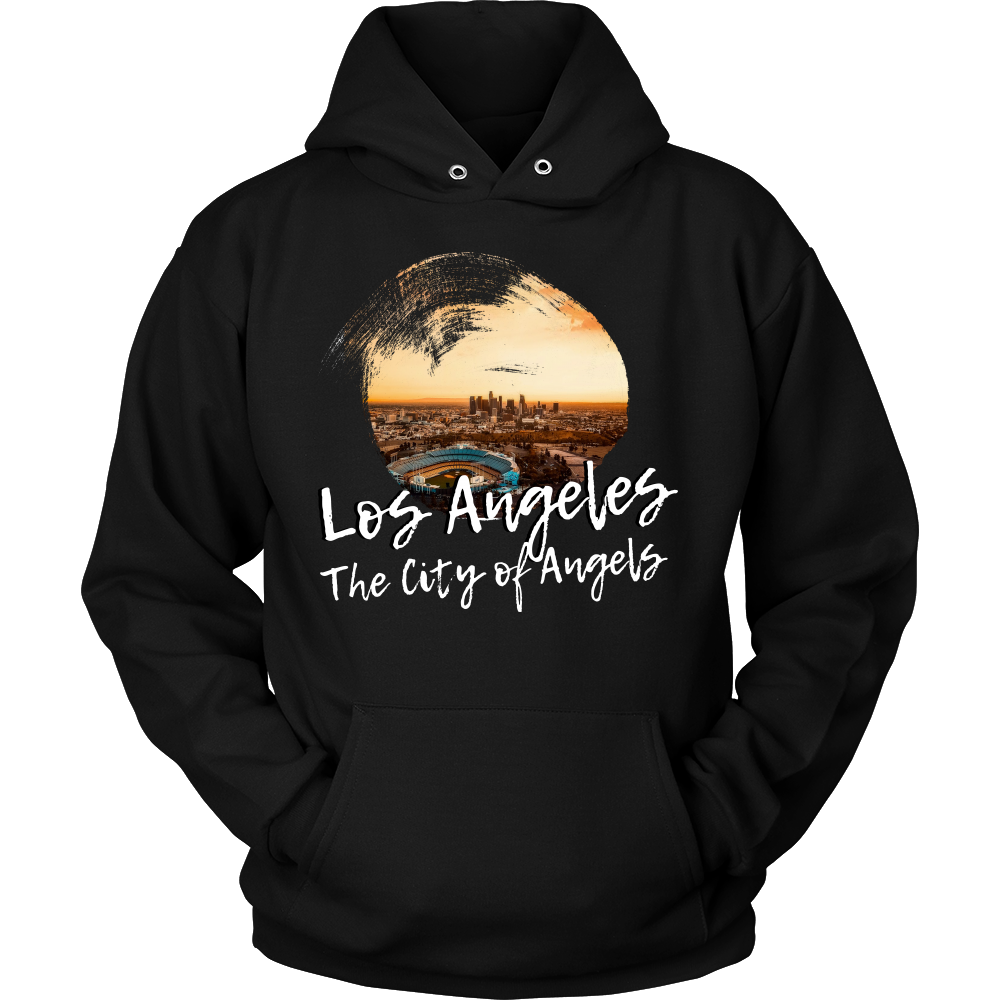 Los Angeles The City Of Angels Skyline Love Country Hoodie