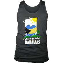 Bahamas Life is Better in the Caribbean Men's Tank