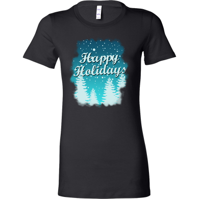 Happy Holidays Christmas Costume bella shirt Gift