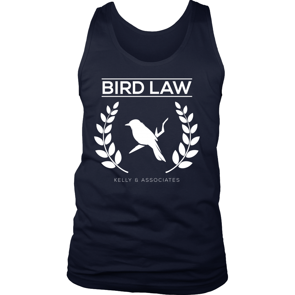 Bird Law Cute Birdy Lawyer Association Tank
