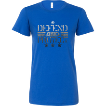 Defend Hero Veterans Day Support and Honor Bella shirt