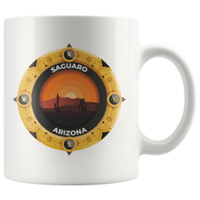 Saguaro National Park Mug | Arizona National Parks Art Coffee 11oz - 15oz Mug