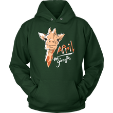 April The Giraffe, Funny and Witty Spent March Watching April Hoodie