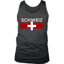 I Love Switzerland, Svizzera Swiss Flag SCHWEIZ Suisse Tank